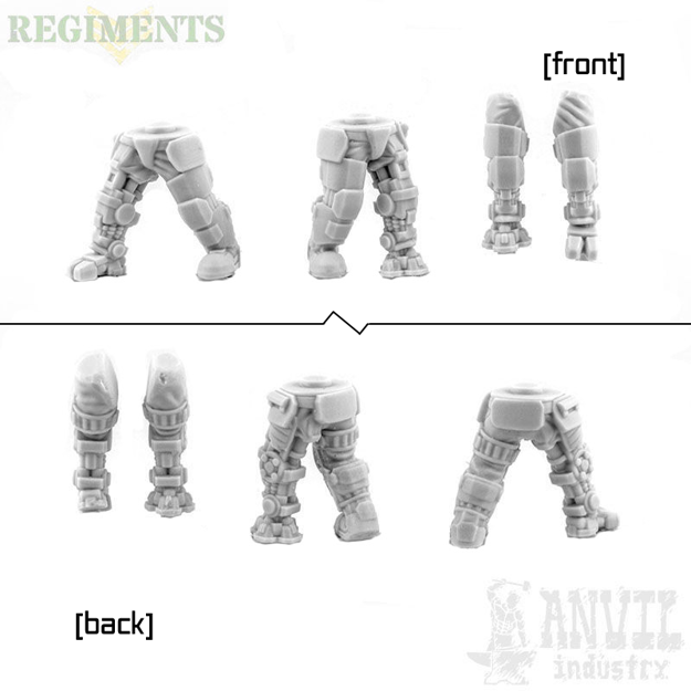 Picture of Male Armoured Legs - Bionic Conversion