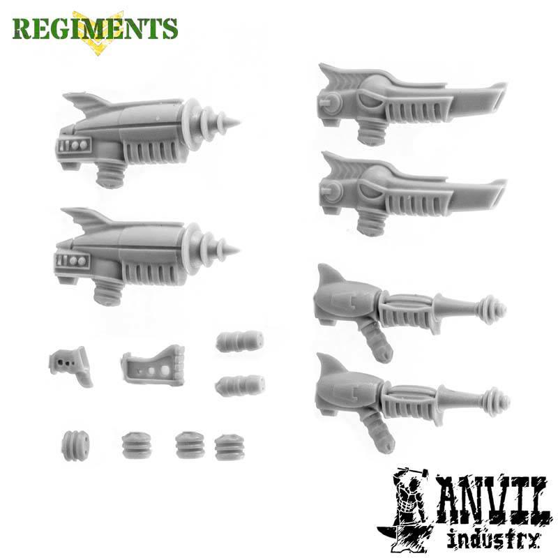 Retro-Future Ray Guns