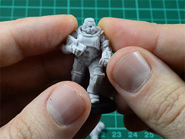 Assembly Tips for Exo-Lord Heroic Scale Miniatures