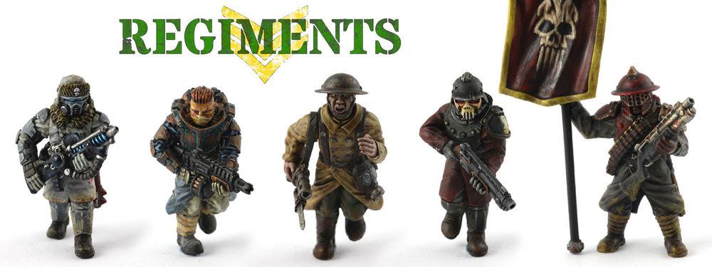 Warhammer 40k Imperial Guard Astra Militarum Heads Bitz Bits Games Workshops